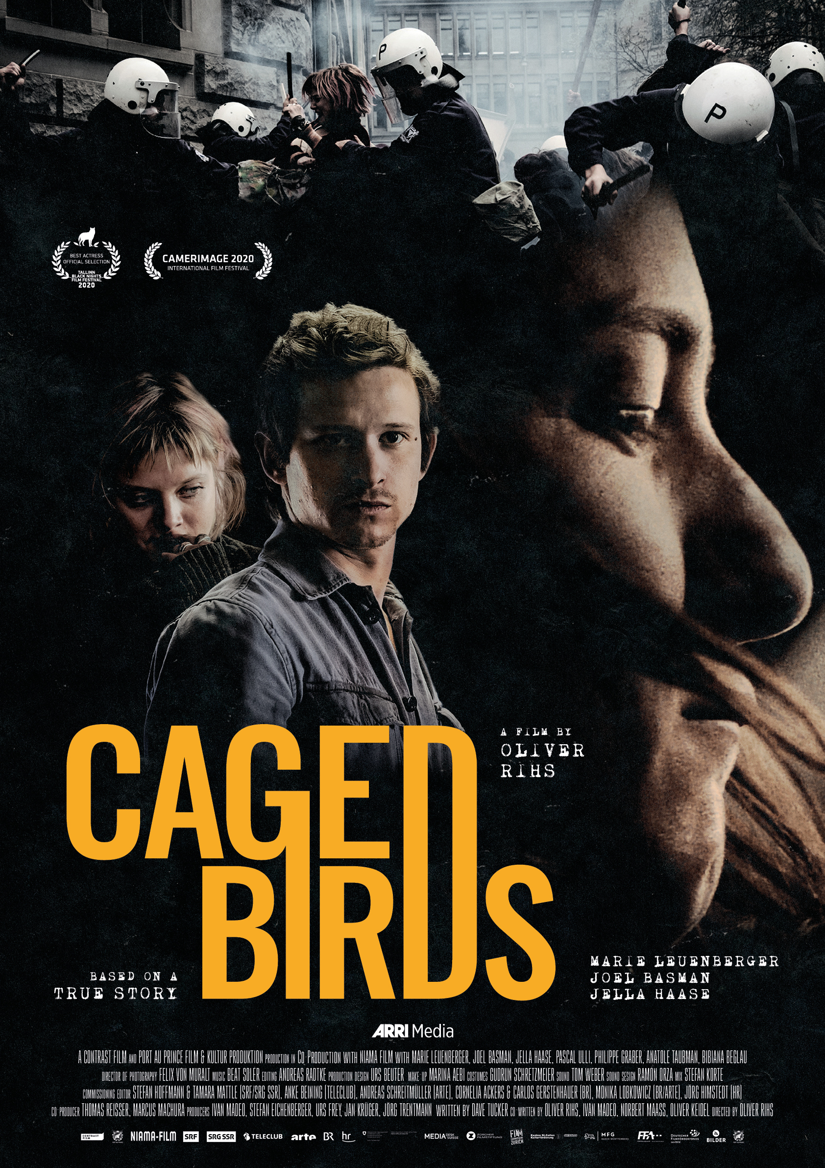 Caged Birds Poster